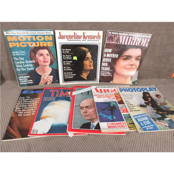 8 Vintage Magazines