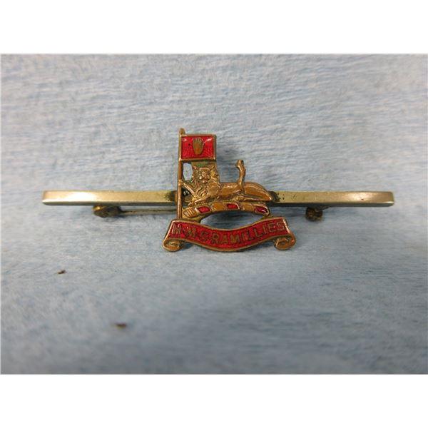 HMS Ramillies Service Pin
