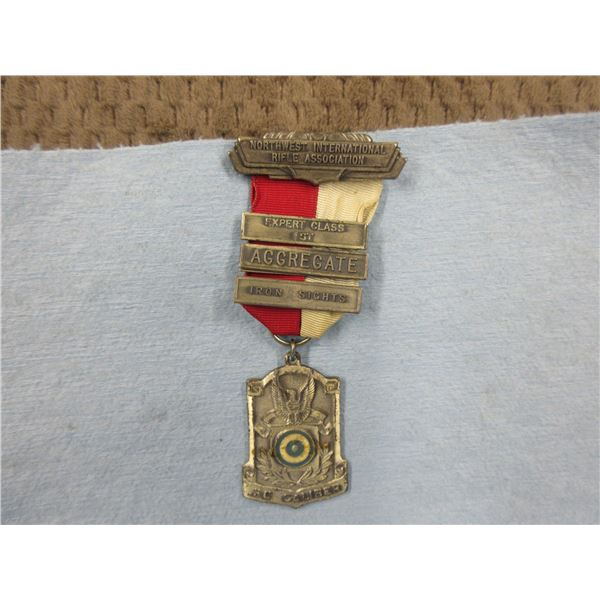 Northwest International Rifle Association First Place Medal
