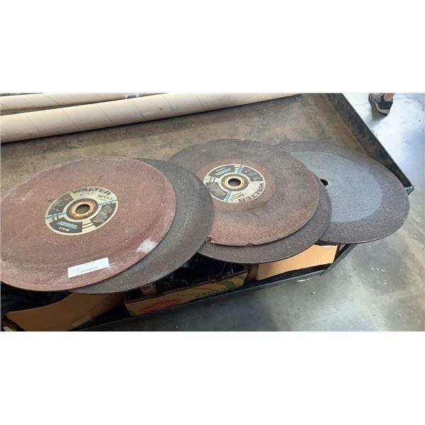 "Lot of walter 20"" cutoff discs"