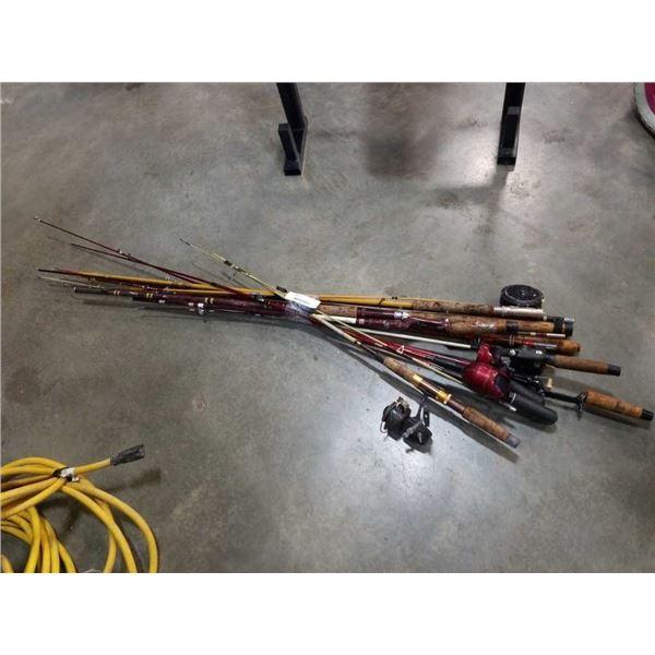 Bundle of fishing rods