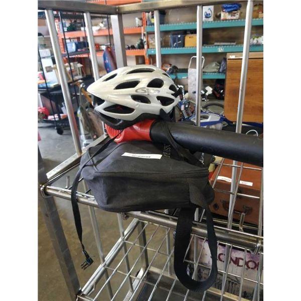Digital measuring wheel and Black & Decker electric Blower