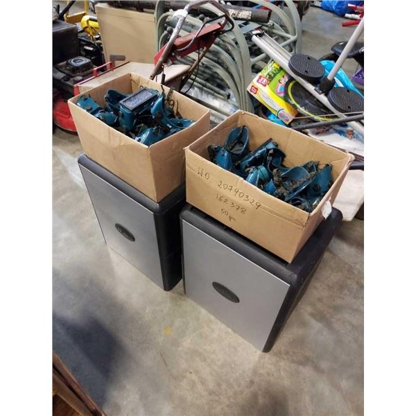 2 BOXES OF WELDING GOGGLES