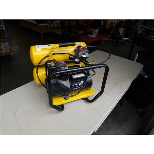 CAMPBELL HAUSFIELD TWIN TANK AIR COMPRESSOR