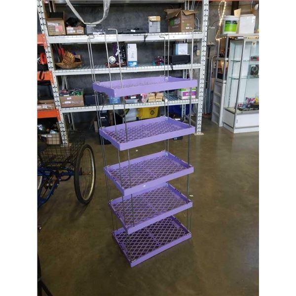 5 tier Huskylite shelf