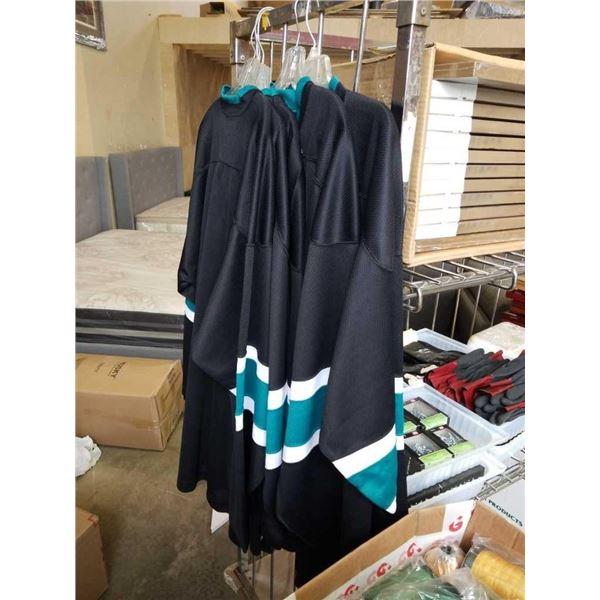 Five New San Jose Sharks colour jerseys