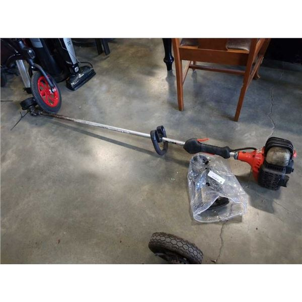 Echo gas powered weed eater and weeding tool
