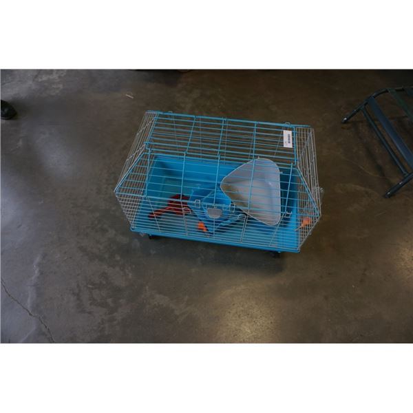 Rolling pet cage