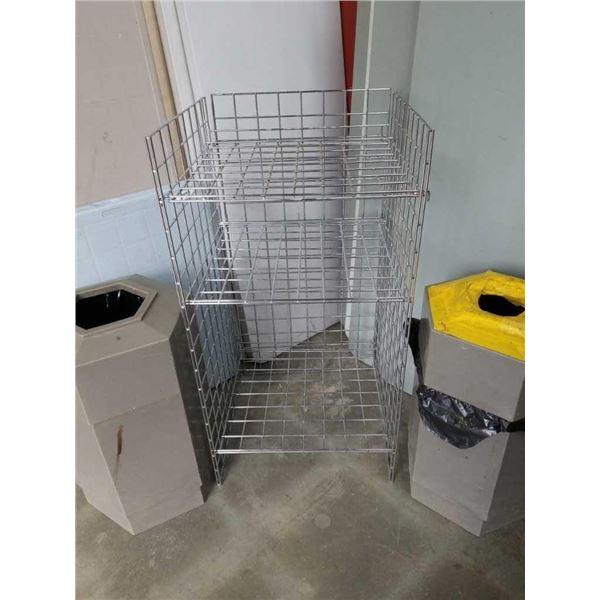 Gridwall 3-tier Shelf