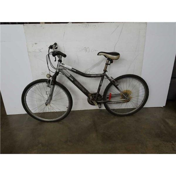 Gray infinity huron bike