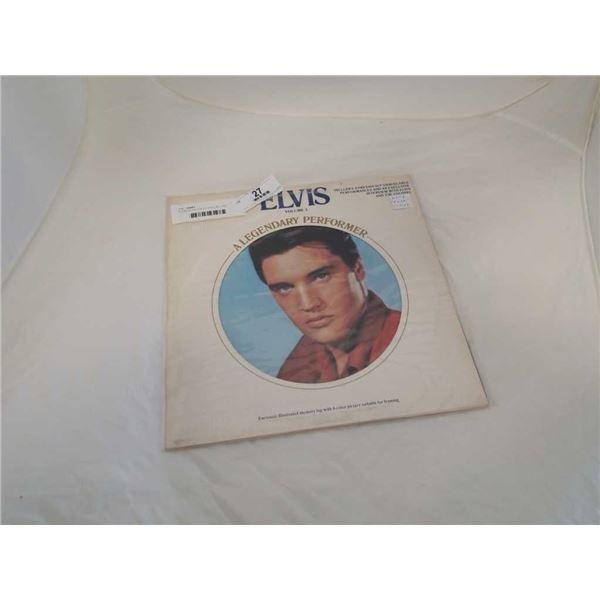 ELVIS VOLUME 3 GOLD VINYL RECORD