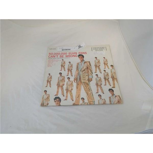 ELVIS GOLD RECORD VOLUME 2 VINYL