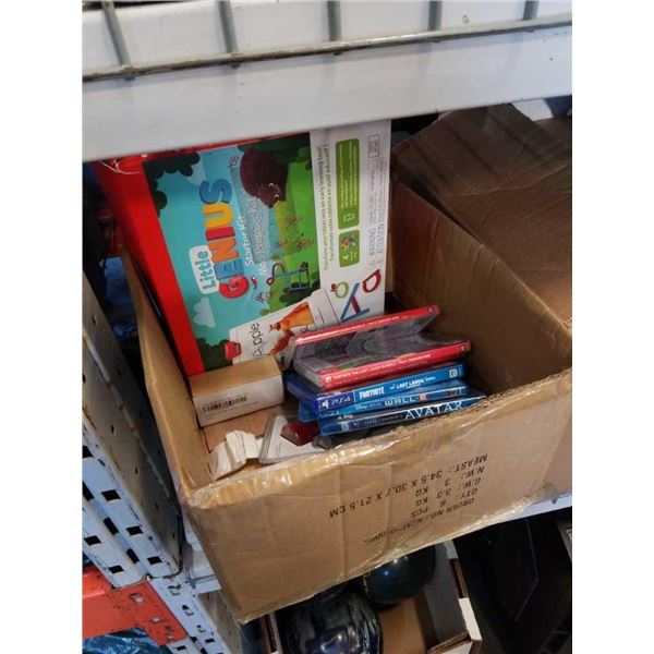 Box of little genius kit and digital addon games