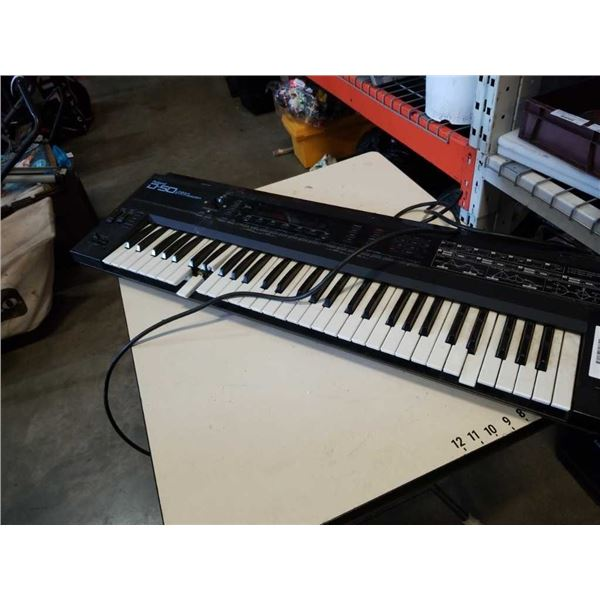 Roland D50 electric synthesizer keyboard - needs repair