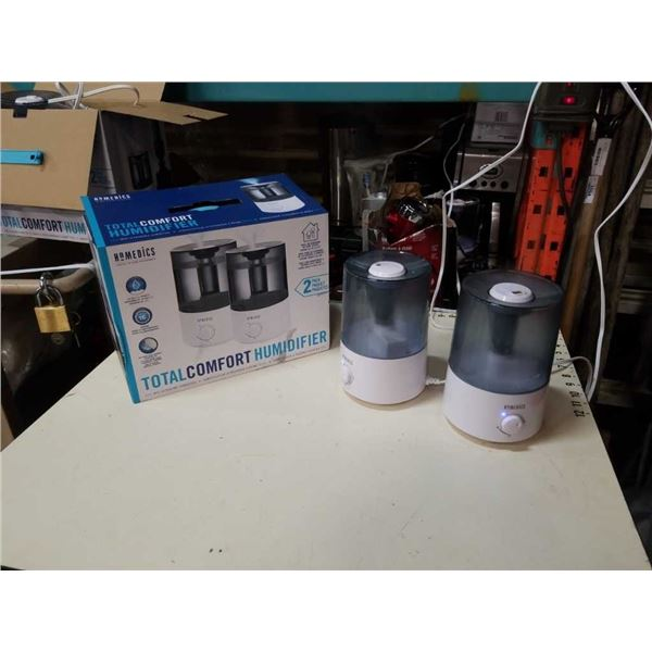 Homedics Total Comfort humidifier two pack working