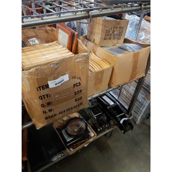 LARGE LOT OF NEW PICTURE FRAMES
