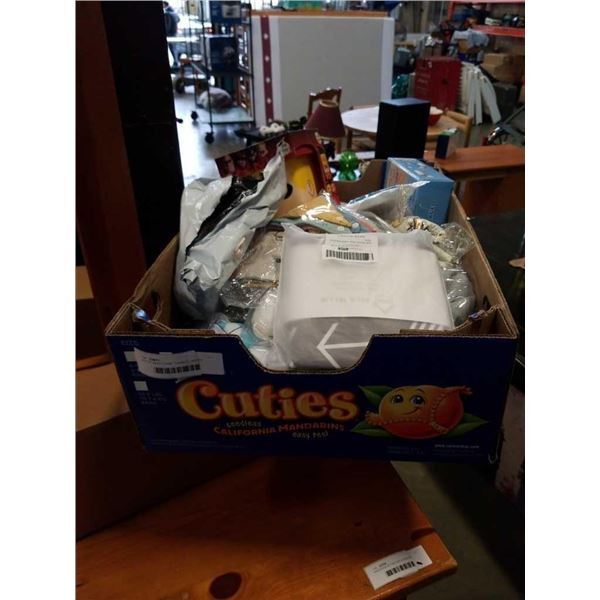 LOT OF BABY ITEMS, TOWELS, SHOES, ASPIRATOR, ETC
