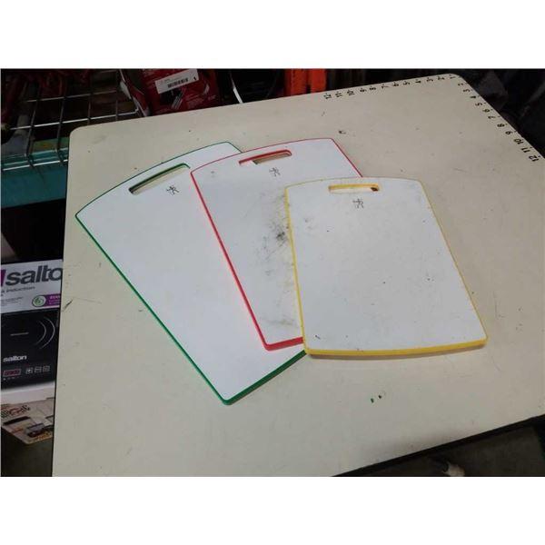 3 J A Henkels cutting boards