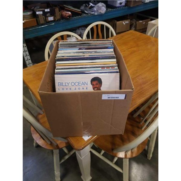 Box of various records
