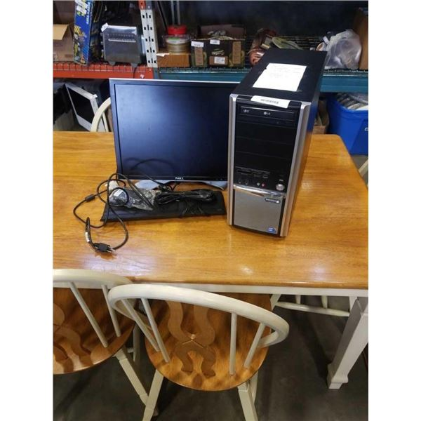 Synergio I5 windows 10 500GB HDD, 4GB DDR3 ram with monitor, keyboard and mouse
