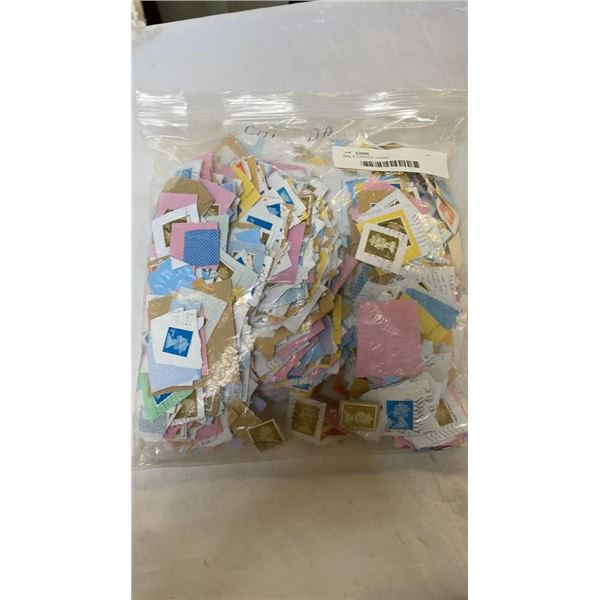 Bag of CANADA stamps