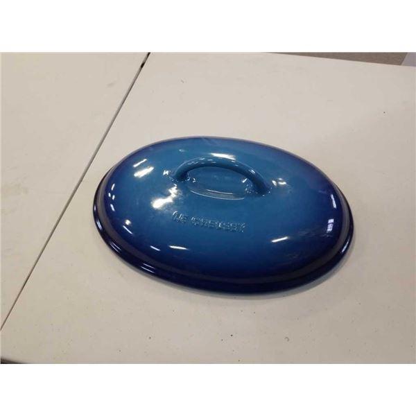 Le Creuset oval lid