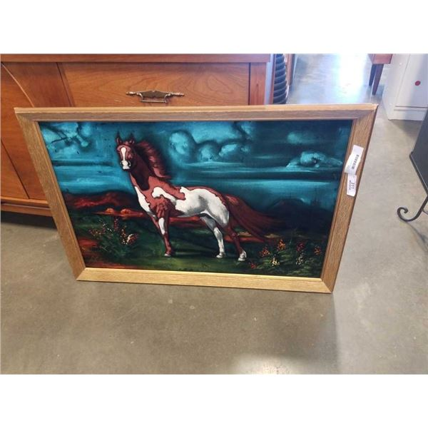 VELVET HORSE PAINTING