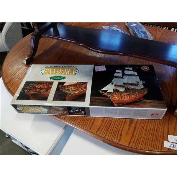Sealed constructo pandora ship model kit