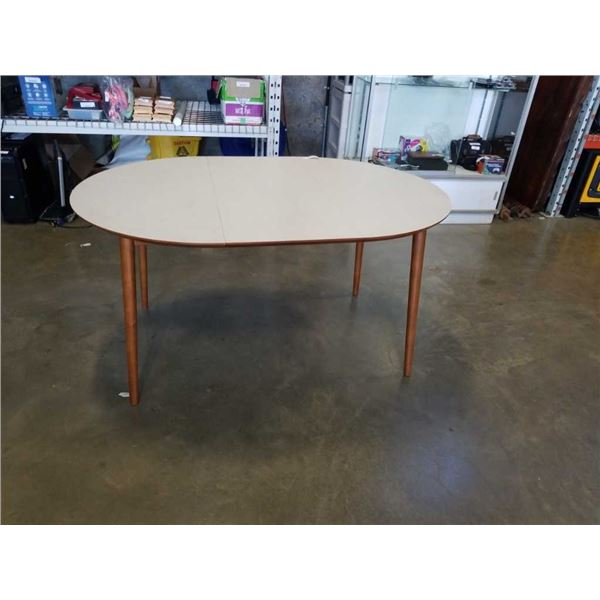 MCM DINING TABLE WITH LEAF