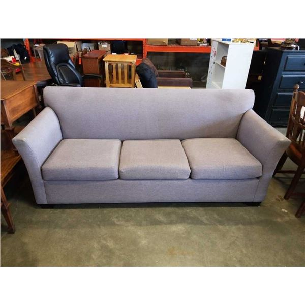 GREY UPHOLSTERED SOFA BED