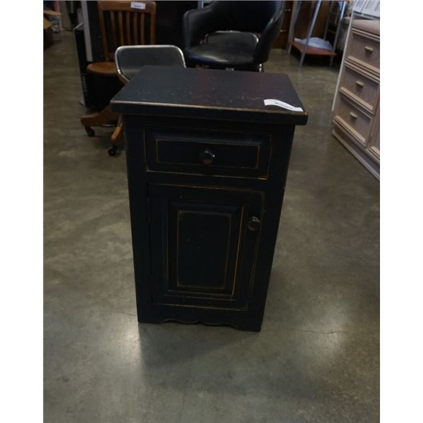 1 DRAWER SOLID WOOD NIGHTSTAND
