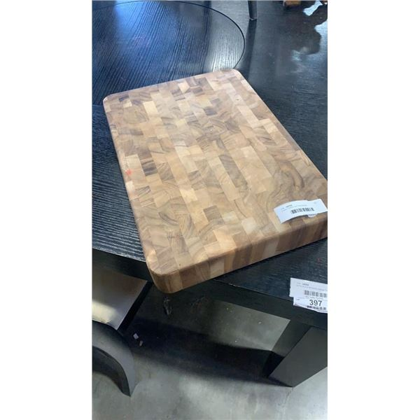 3 INCH THICK CUTTING BLOCK