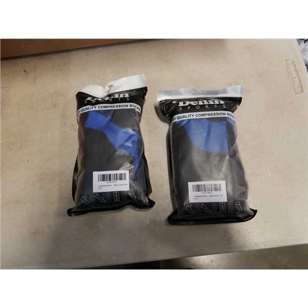 4 pairs of new sports compression socks 2 pairs/PKG