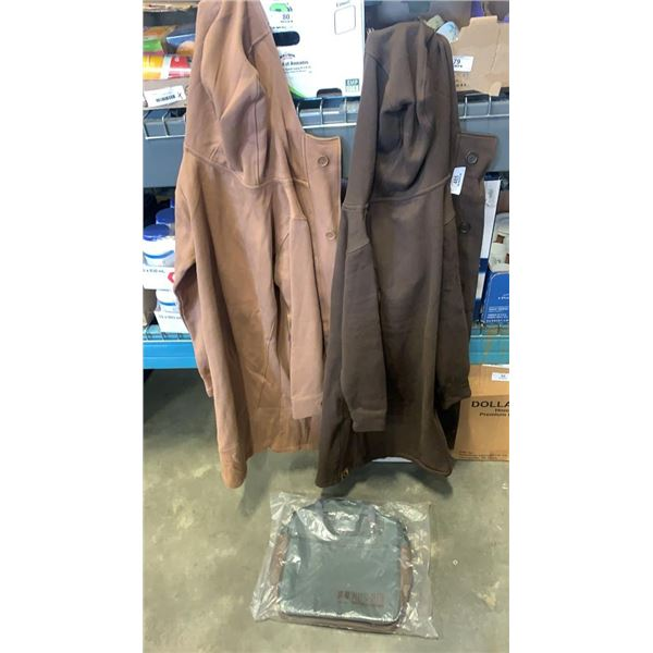 2 new ladies jackets carrying bag
