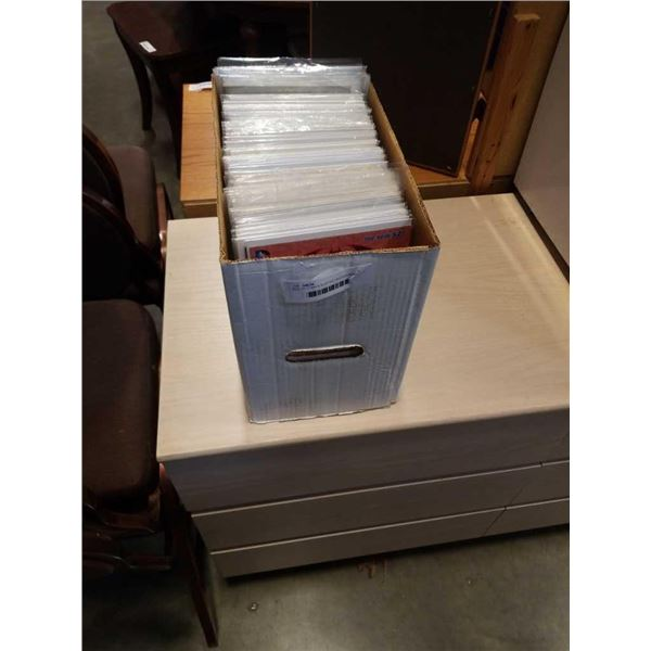 BOX OF COMICS SLEEVED AND BOARDED