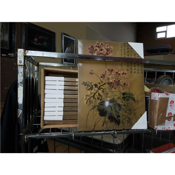 Lot of new Eastern canvas prints
