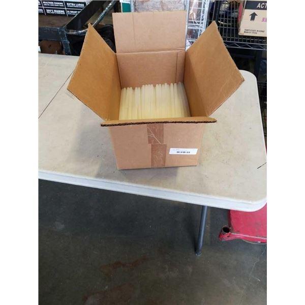 BOX OF LARGE GLUE STICKS