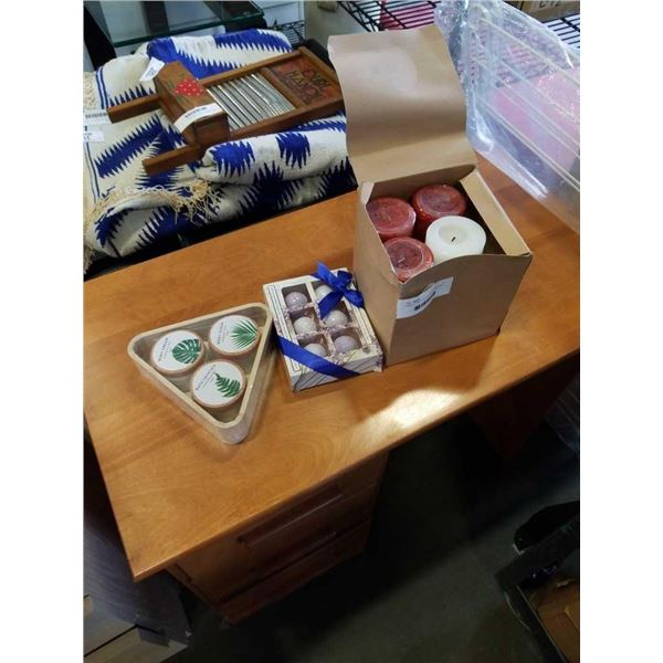 CANDLES, BATH BOMBS, BODY CARE GIFT SET