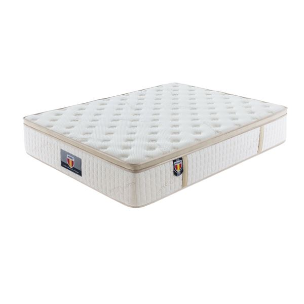 "BRAND NEW QUEEN SIZE ""TRINITY"" MATTRESS W/ HD POCKET SPRINGS, GE MEMORY FOAM, AND ORGANIC COTTON COV"