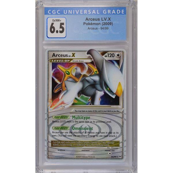POKEMON 2009 Arceus LV. X holo EX/NM+ 6.5 CGC