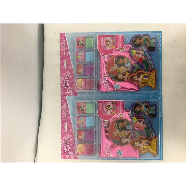 2 New disney princess cosmetic set