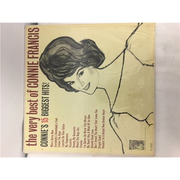 Best of connie francis record