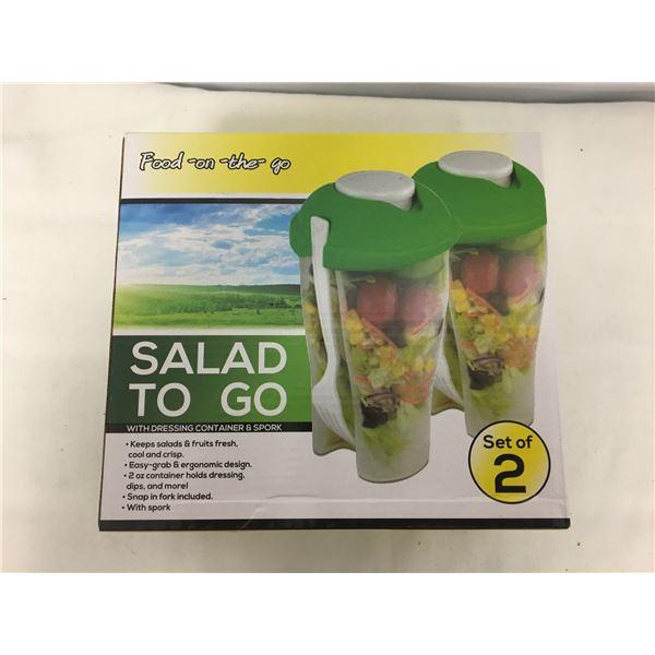 New salad to go set