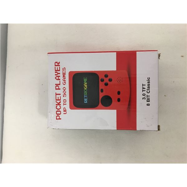New pocket player 500 games