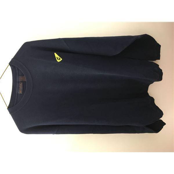New graff sweater blue sz.lg