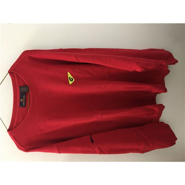 New graff sweater red sz.xlg