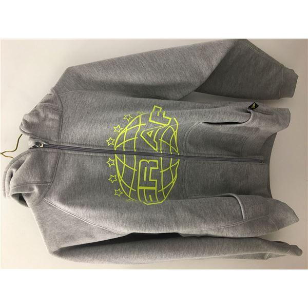 New graff hoodie grey sz.xsm