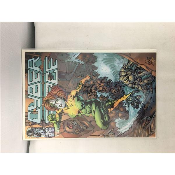 Cyber force comic #23