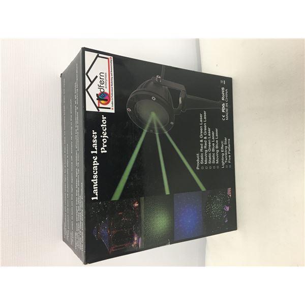 New landscape laser