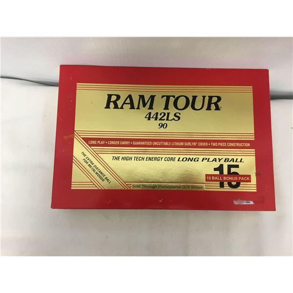 New ram tour 442ls 15 pack golf balls